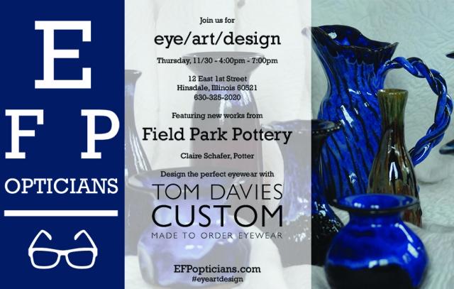 eye art design Field Park Pottery webtime