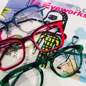 LA Eyeworks New Releases April 2018