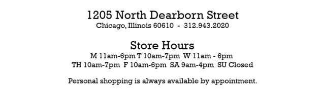 Dearborn Location Hours Block